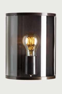 lampen shop otto zern messing wandlampe glaszylinder antik. Black Bedroom Furniture Sets. Home Design Ideas