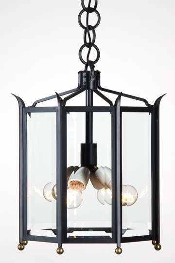lampen shop otto zern geschmiedete h ngelampe 8 eckig achteckige geschmiedete deckenlampe mit. Black Bedroom Furniture Sets. Home Design Ideas