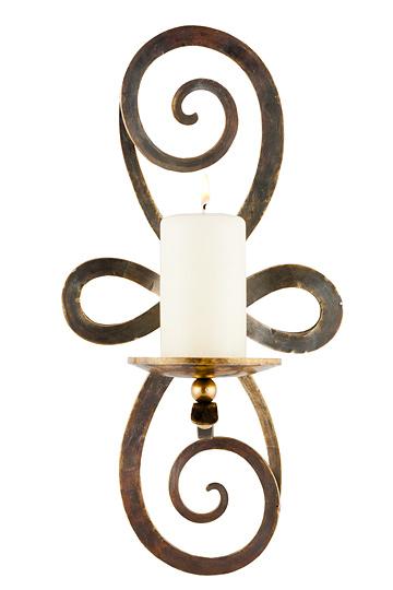 lampen shop otto zern ornamento bronze kerzenleuchter. Black Bedroom Furniture Sets. Home Design Ideas