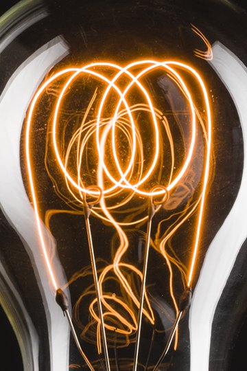 Lampen-Shop Otto Zern: Kohlefadenlampe original Antik