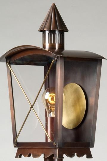 lampen shop otto zern kupfer wandlampe artus. Black Bedroom Furniture Sets. Home Design Ideas
