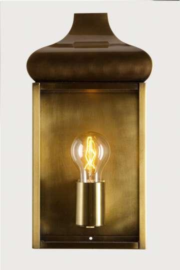 lampen shop otto zern messing wandlampe kupfer br niert. Black Bedroom Furniture Sets. Home Design Ideas