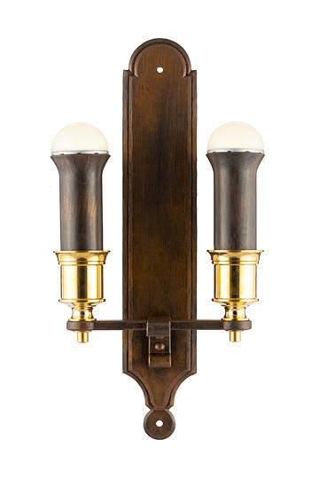 lampen shop otto zern geschmiedete wandlampe artio 2 flammig. Black Bedroom Furniture Sets. Home Design Ideas