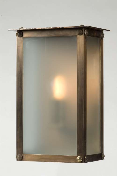 lampen shop otto zern bronze wandlampe gro. Black Bedroom Furniture Sets. Home Design Ideas